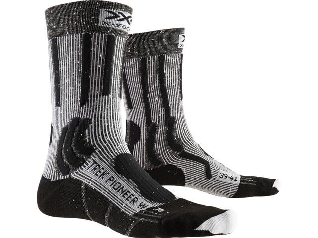 X-Socks Trek Pioneer Chaussettes Femme, opal black/flocculus white